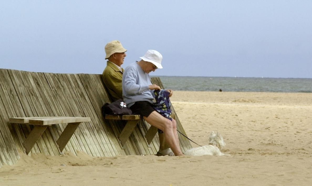 Les retraités en vacances